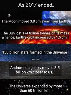 Some interesting statistics (couldn't post directly) – Science, Physics and Astronomy News Earth And Space, Astronomy Facts, Space And Astronomy, Planetary Science, Interesting Statistics, E Mc2, Space Time, Space Space, Wtf Fun Facts