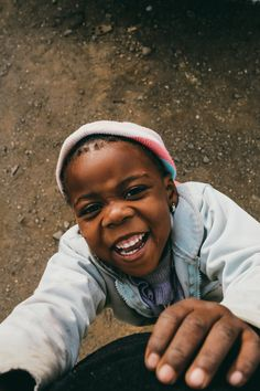 The pure joy on her face!! We are so blessed to be able to love the children in Lesotho!