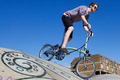 BROMPTON - Das Faltrad | Faltmechanismus und Optionen http://www.brompton.de/