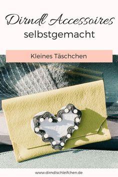 Mit Fimo Leather Effect Herzalanstecker, Maßhakerl und Schürzentascherl basteln Diy Fashion, Upcycle, Coin Purse, Purses, Wallet, Leather, German Fashion, Inspiration, Fimo