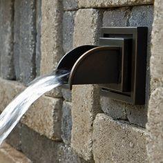 Atlantic Water Gardens Mantova Brass Wall Spout
