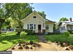 Search all homes for sale in See property details, photos and open house info for 55105 real estate. Cute Cottage, Beach Cottage Style, Beach House, Craftsman Style Bungalow, Craftsman Bungalows, Cute Little Houses, Cute House, One Room Houses, Mission House