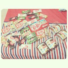Kitkat,nutella I love it