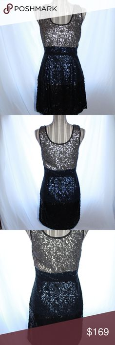 "NWT! Madewell Sequin Dress Beautiful Dress! Great for special occasions or a night out on the town!   100% Polyester 100% Polyester Lining  Approx. Measurements 16"" Across Chest 14"" Across Waist 34"" Length Madewell Dresses Midi"
