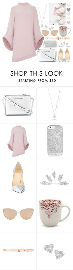 """"""":: Bell-Sleeve Dresses ::"""" by andreearucsandraedu ❤ liked on Polyvore featuring MICHAEL Michael Kors, Amorium, Brandon Maxwell, Christian Louboutin, Cutler and Gross, Sur La Table, Nina Ricci, Vivienne Westwood and Anne Sisteron"""