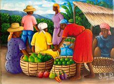 Yvon Jean-Pierre ~ Haitian Art