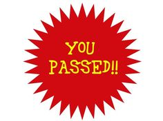 I got: You Passed!! You Are In The Top 4%.!