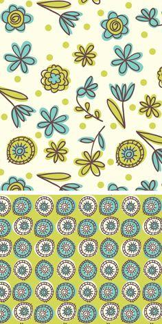 print & pattern blog: design studio - Lucky Day cc: @Donna Catanese @Julia Briggs @Mary Richardson and Pattern Blog