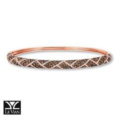 Reach for this decadent Le Vian Chocolate Diamond bracelet for every extravagant event this holiday season.