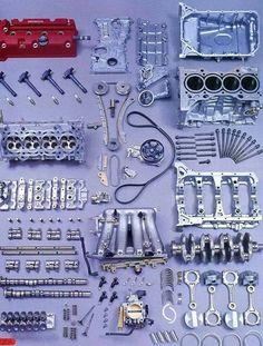 K series dna Honda Civic Coupe, Honda Civic Hatchback, Honda Crx, Honda Civic Type R, Vtec Engine, Car Engine, Phantom Car, Automobile, Civic Eg