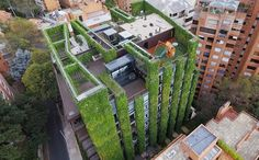 This Living Building in Bogota Is the World's Largest Vertical Garden - Edificio Santalaia, a plant-covered building in the middle of Bogota, Colombia, is considered one of the most amazing urban gardens ever created. With over 33,000 Sq. feet of plants covering the building's 11 stories (9 above …