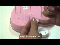 Керамическая флористика fleur - Урок 1 (часть 2).wmv - YouTube
