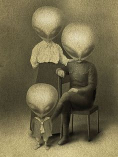 Portrait of an Extraterrestrial Family