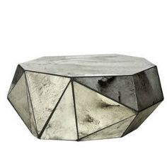 Eglomise Geo Coffee Table