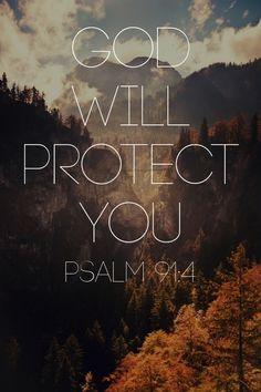 God will protect you #faith