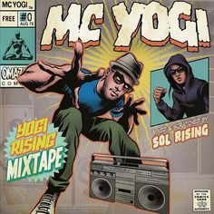 New mixtape with @mcyogi just dropped today! Had fun getting back to my hip hop roots on this one. Visit mcyogi.com for a free download. #yogirising #yoga #hiphop by solrising http://ift.tt/1HNGVsC