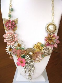 recycled jewelry necklace
