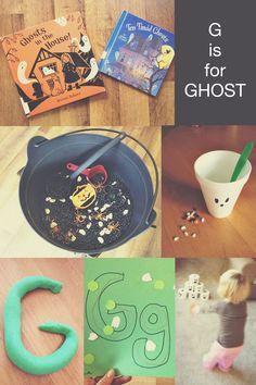 Ghost preschool activities