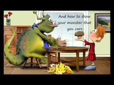 Procedural text - Children's Book - How to Sneak your Monster into School - Book Trailer and persuasive