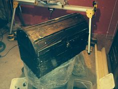 Pallet treasure chest