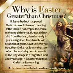 This is why Easter is my favorite holiday of the year. Christ has died. Christ is Risen. Christ will come again. For by GRACE are we Saved through Faith in CHRIST JESUS! Catholic Answers, Catholic Beliefs, Catholic Prayers, Catholic Traditions, Catholic Lent, Mere Christianity, Bible Prayers, Religious Quotes, Spiritual Quotes