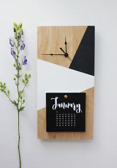 The perfect office decor! Diy Wall Art, Diy Wall Decor, Diy Bedroom Decor, Diy Home Decor, Wall Clock Wooden, Wood Clocks, Antique Clocks, Wooden Decor, Wooden Crafts