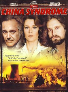 THE CHINA SYNDROME (1979) - Jack Lemmon - Jane Fonda - Michael Douglas - Columbia Pictures - DVD Cover Art
