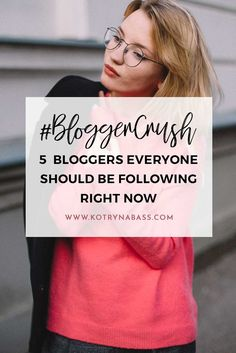 I love sharing tips & tricks from my story as a blogger, yet I feel like I don't share the work of others that inspire me to blog & keep going. In this post, I would love to spread some love and talk about some of the awesome online influencers that I love following right now.