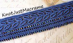 Micro Macrame knotting by Sherri Stokey of Knot Just Macrame.