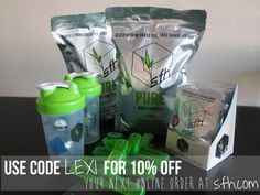 SFH Protein Powder: Use Code LEXI for 10% off