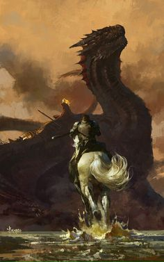Jaime, Drogon & Daenerys (Game of Thrones)