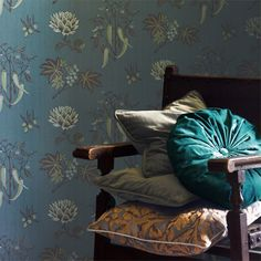 zoffany wallpaper trade routes chili peppers - Google Search