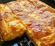 Αφράτη τυρόπιτα της Γκόλφως Νικολού! Greek Recipes, Light Recipes, Lasagna, Food And Drink, Menu, Snacks, Cooking, Ethnic Recipes, Desserts