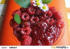 Malinová marmeláda recept - TopRecepty.cz Raspberry, Cherry, Fruit, Raspberries, Prunus