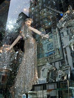 Bergdorf Goodman Christmas window display in the A Compendium of Curiosities series photo by Viridia