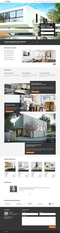 Condio - Single Property Real Estate Theme