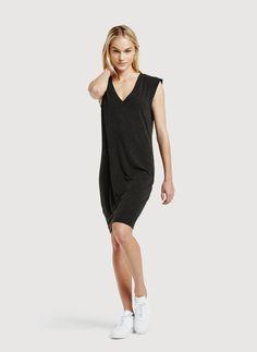 Cap Sleeve V-Neck Dress   Daring V Dress   Kit and Ace
