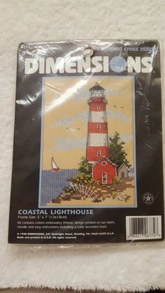 Dimensions Stamped Cross-Stitch Kit by yourgalfridayfl on Etsy