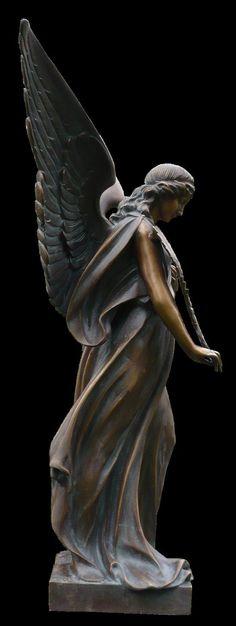"""coisasdetere: """"Bronze Angel… """""""