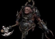 Orc zbrush sculpting, Derrick Song on ArtStation at https://www.artstation.com/artwork/orc-zbrush-sculpting