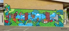 Wall Murals for Schools | primary school catford milton rd primary school cambridgeshire posted ...