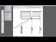 Printing to Scale directly from SketchUp , them you can send to your photoshop and do the panel.