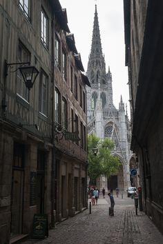 Church of Saint-Maclou in Rouen, Upper Normandy_ France