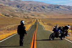 Miquel Silvestre pioneering a GS trail from Saint Augustine to San Francisco Source by bmw_motorrad Adventure Activities, Adventure Tours, Adventure Travel, Motorcycle Camping, Motorcycle Adventure, Moto Bike, Motorcycle Helmets, Gs 1200 Bmw, Places To Travel