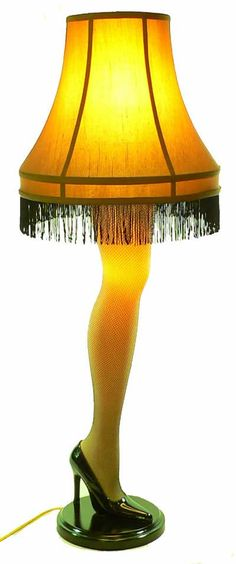 """FRA-GEE_LAY it must be Italian!"" - the leg lamp from A Christmas Story"