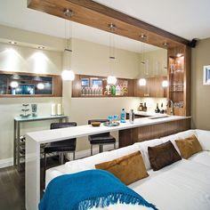 Look hôtel-boutique au sous-sol - Sous-sol - Inspirations - Décoration et rénovation - Pratico Pratique
