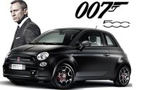 James Bond to Trade In His Aston Martin for a Fiat 500 - CarNewsCafe