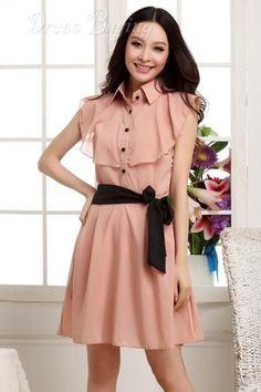 New Fashion Korean Style Falbala Dress