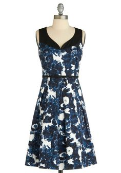 Blueberry Nights Dress, #ModCloth