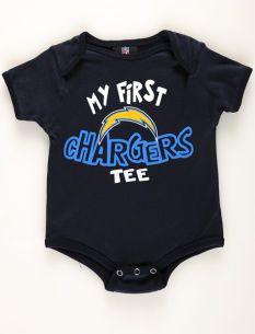 Motherhood Maternity San Diego Chargers Newborn Baby Bodysuit
